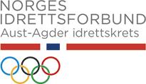 NIF Aust-agder logo